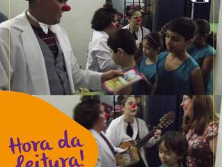 Campanha distribui mais de 600 livros infantis durante o mês da criança