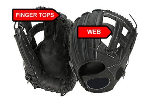 Fielders Glove Web and Fingers