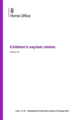 Children's Asylum Claims