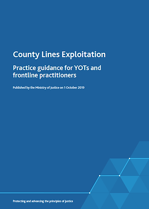 County Lines Exploitation Practice Guidance for YOT's and Frontline Practitoners