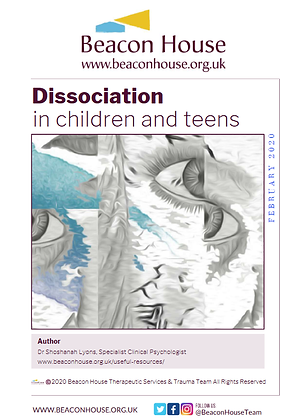 Dissociation in Children and Teens