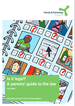 Is It Legal?: A Parents' Guide To The Law (3rd Ed)