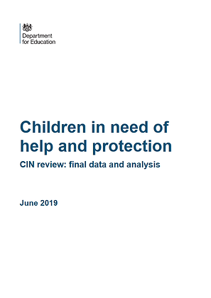 Children In Need of Help and Protection: CIN Review, Final Data and Analysis