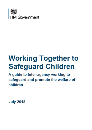 Working Together To Safeguard Children: A Guide To Inter-Agency Working