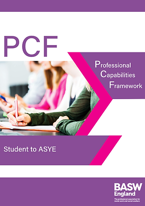PCF Professional Capabilities Framework - Student to ASYE
