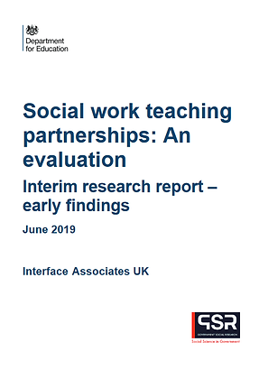 Social Work Teaching Partnerships: An Evaluation