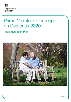Prime Minister's Challenge on Dementia 2020: Implementation Plan