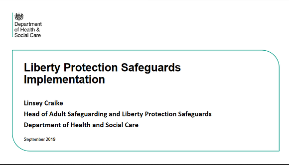 Liberty Protection Safeguards Implementation