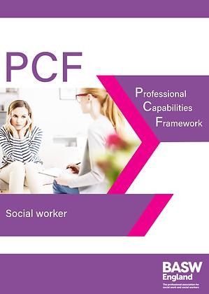PCF Professional Capabilities Framework - Social Worker