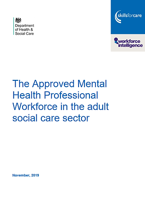 The Approved Mental Health Professional Workforce in Adult Social Care