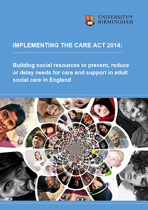 Implementing The Care Act 2014