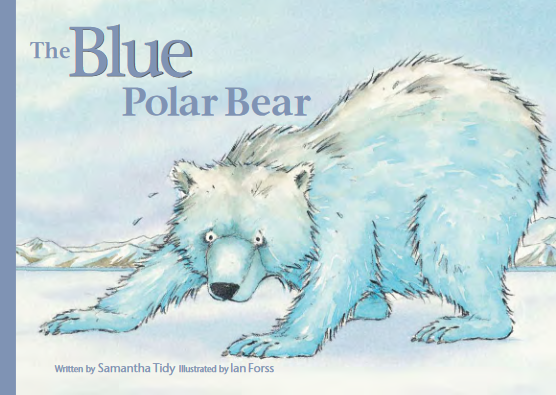 The Blue Polar Bear