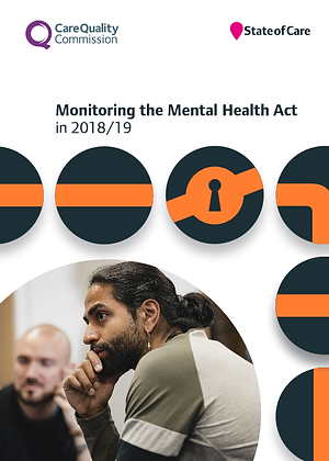 Monitoring The Mental Health Act in 2018/19