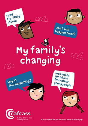 CAFCASS: My Family's Changing