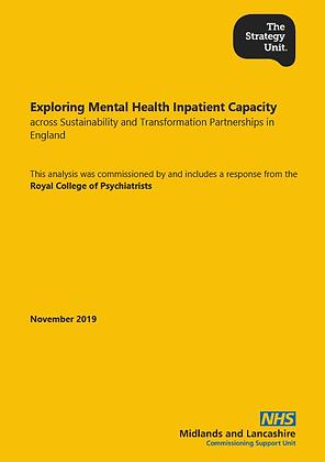 Exploring Mental Health Inpatient Capacity