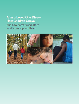After A Loved One Dies: And How Parents And Other Adults Can Support Them