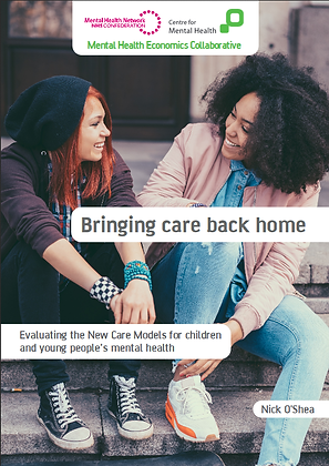 Bringing Care Back Home: Evaluating the New Care Models for Child Mental Health