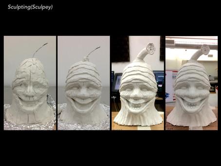 Making the Alien Head