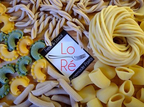 Fresh Pasta, Semolina Zucca