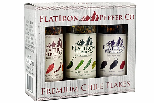 Combo 3 pack Flatiron Pepper Flakes