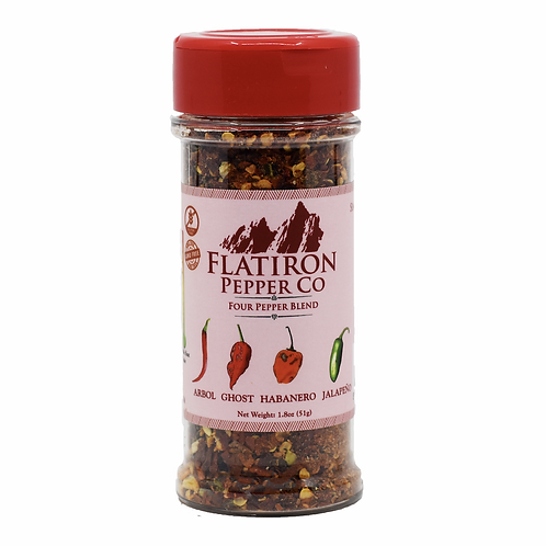 Four Pepper Blend Pepper Flakes
