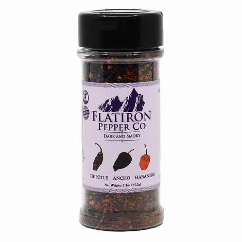 Dark and Smoky Pepper Flakes