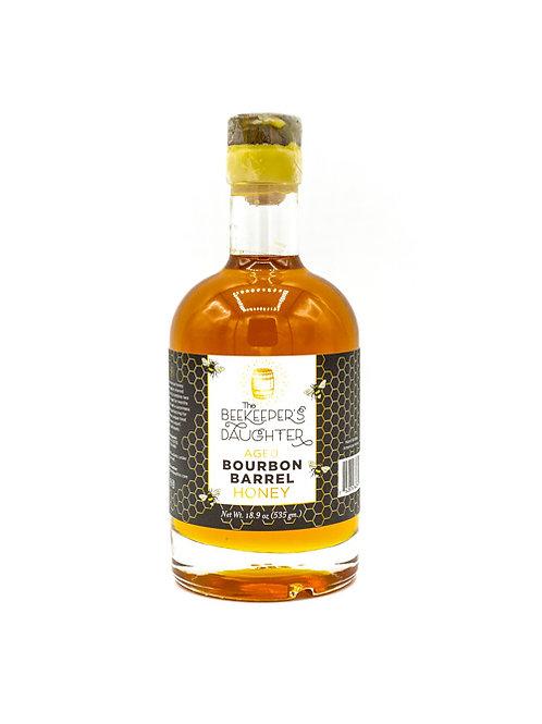 Bourbon Barrel Aged Raw Honey