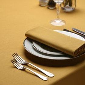 Gold linen serviette/ napkin