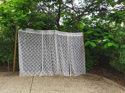 White lace backdrop