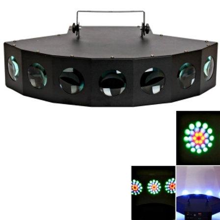 7 Bulb LED Moonflower (Flat) Disco/Party Light