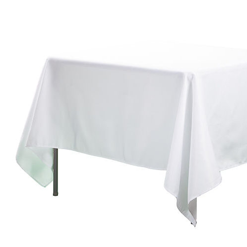 Tablecloth - White - 3m x 1.35m to suit a 2.4m trestle table