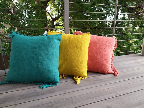 Square Tassel Cushion