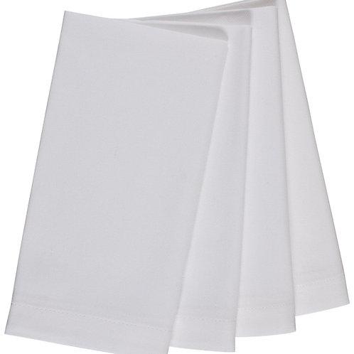 White linen serviette/ napkin