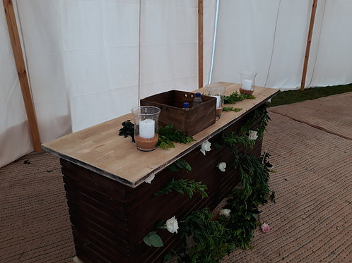 Drink Display Bench/Table