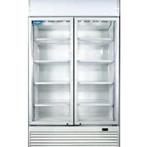 Two door drinks fridge