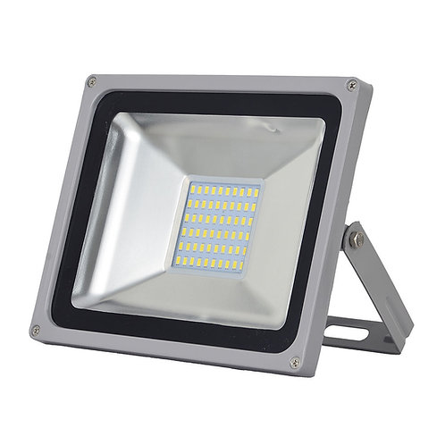 5 x 50 watt Floodlight (Cool White).