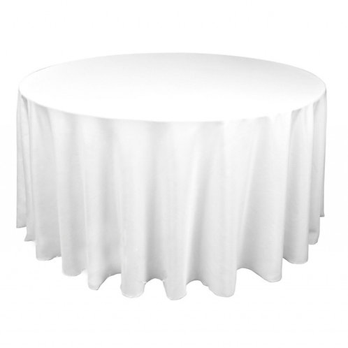 Tablecloth - White - Round