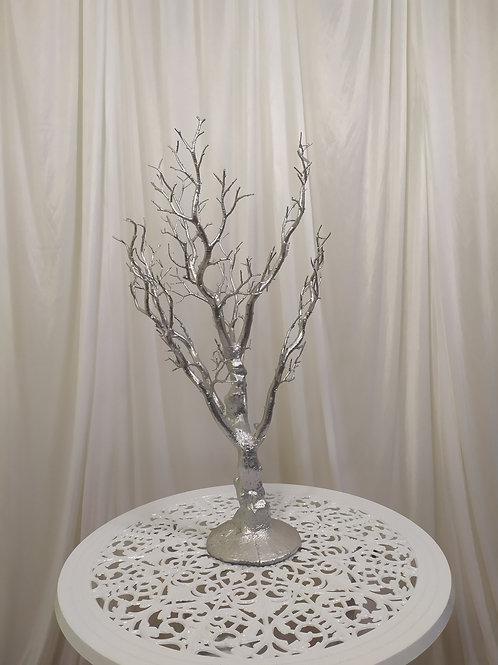 Gold and Silver Manzanite Tree