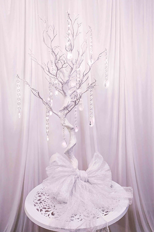 White Manzanite Tree