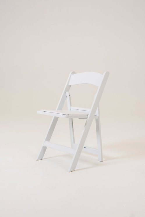 White americana chair for hire