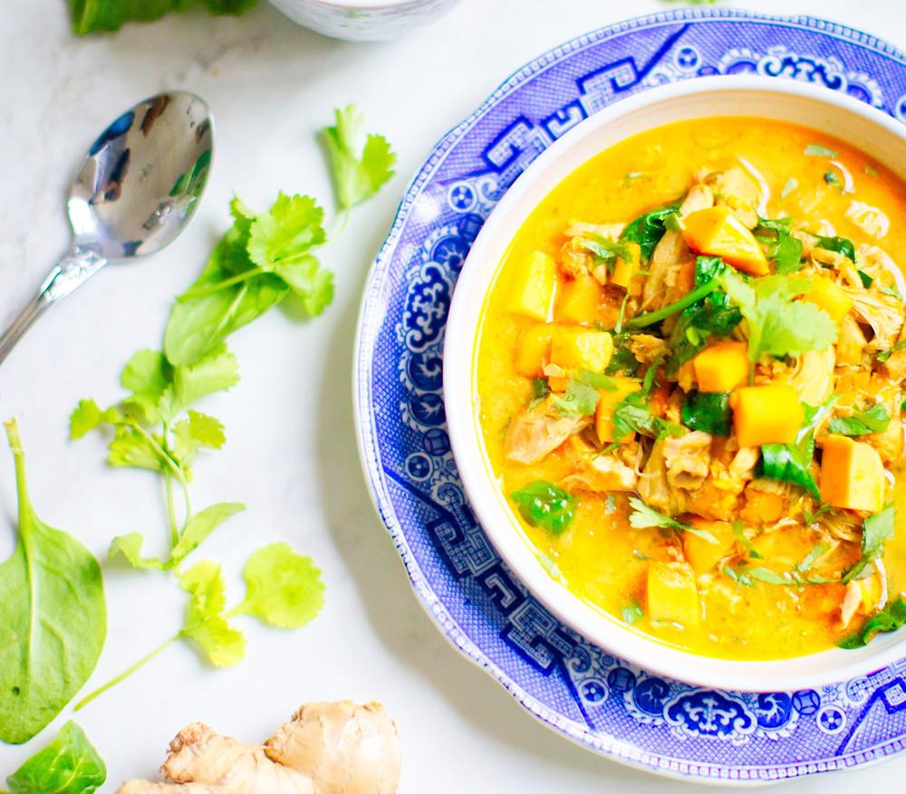Vegan and Gluten Free Butternut Squash Soup