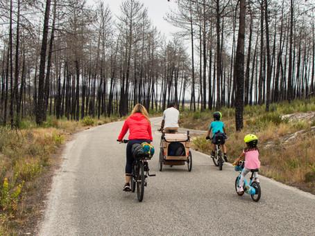 Da Figueira da Foz ao Porto em duas rodas | uma micro-aventura em família |