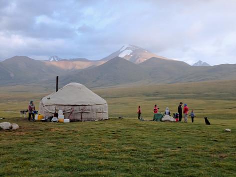 O Quirguistão que nos encheu o coração