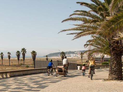 Da Figueira da Foz ao Porto em duas rodas   uma micro-aventura em família  