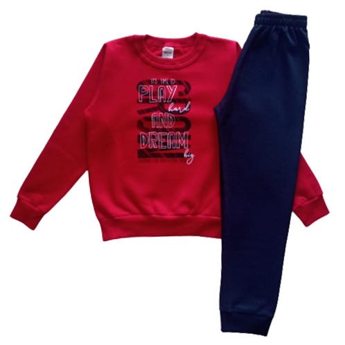 Conjunto Infantil Masculino - Vermelho - Elian