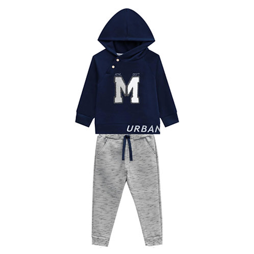 Conjunto Infantil Masculino - Urban - Azul - Milon