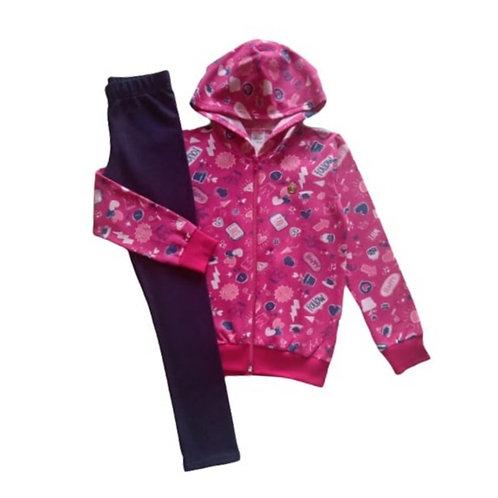 Conjunto Infantil Feminino - Pink - Elian