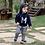 Thumbnail: Conjunto Infantil Masculino - Urban - Azul - Milon