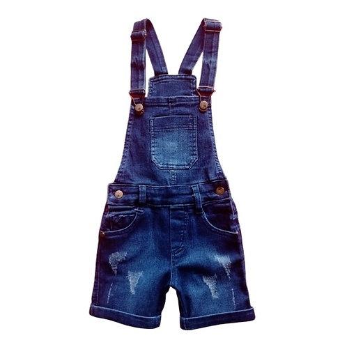 Jardineira Infantil Masculina - Jeans