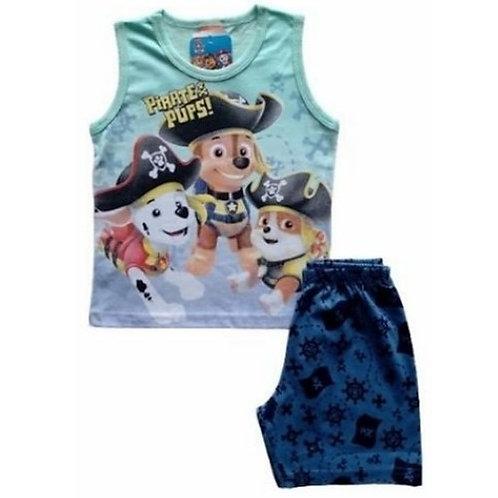 Conjunto Infantil Masculino - Pirata - Verde - WRK